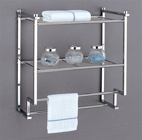 Wall Mounted Bathroom Storage Units by Bathroom Wall Shelves That Add Practicality And Style To