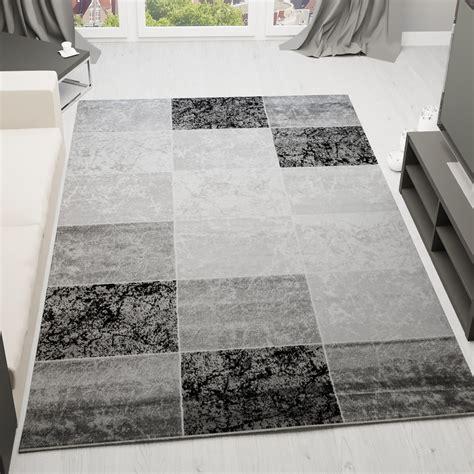 teppich grau muster moderner designer heatset teppich marmor muster kariert