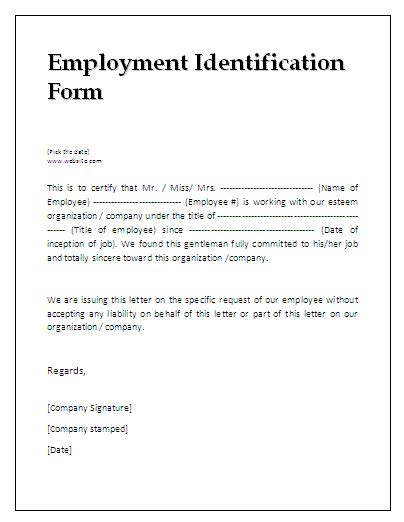 Verification Reply Letter 13 Verification Of Employment Template Pay Stub Template