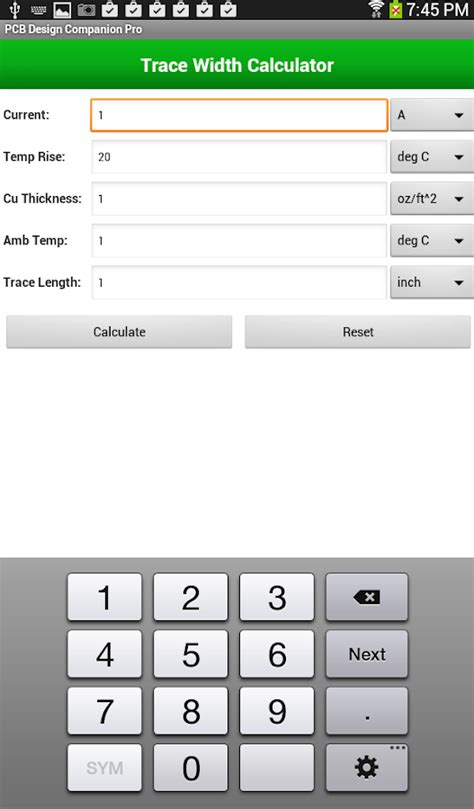 pcb layout design app pcb design companion free android apps on google play