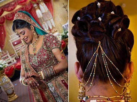 Hindu Bridal Hairstyles For Hair by Bridal Hairstyles For Wedding Sarees Indian