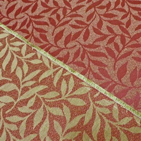 fabric crafts upholstery william morris willow arts crafts reversible heavy duty
