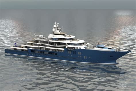 Kleven Building 2nd Megayacht for Graeme and Robyn Hart