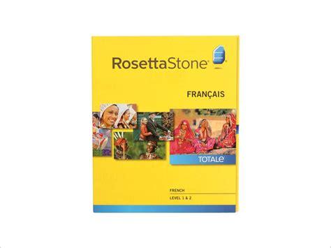 rosetta stone french free rosetta stone french v4 lvl 1 2 set neweggflash com