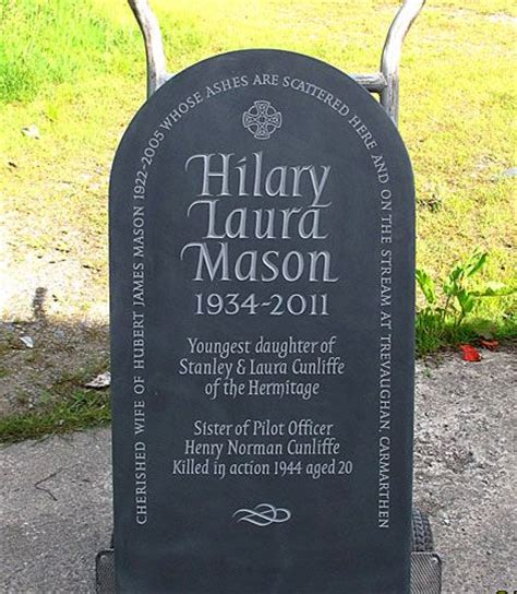 headstone layout exles exles of simple and dignified headstones by ieuan rees