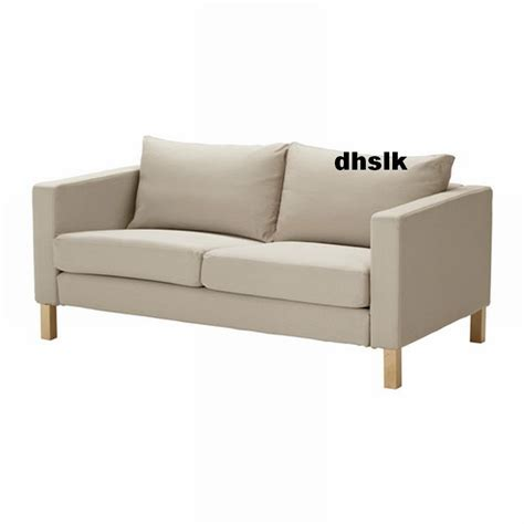 modern sofa covers ikea karlstad loveseat sofa slipcover cover sivik beige 2