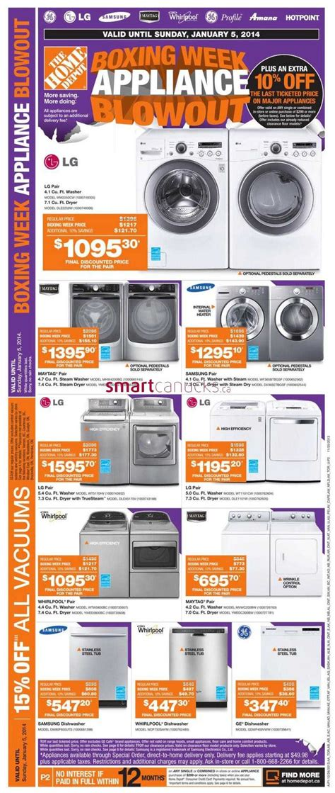 home depot canada boxing day flyer december 26 2013