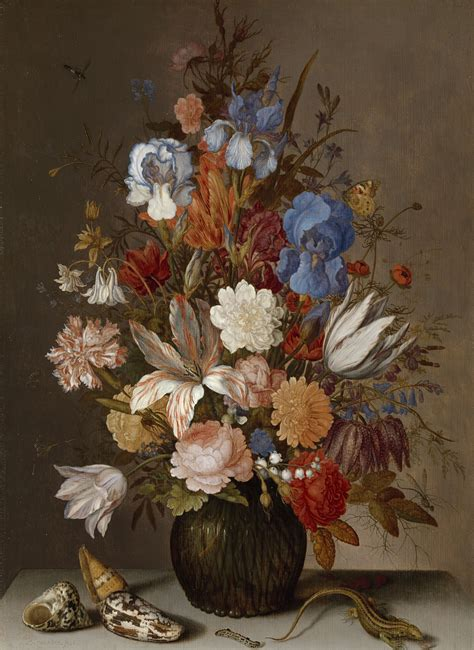 stilleven bloemen van gogh stilleven met bloemen balthasar van der ast ca 1625