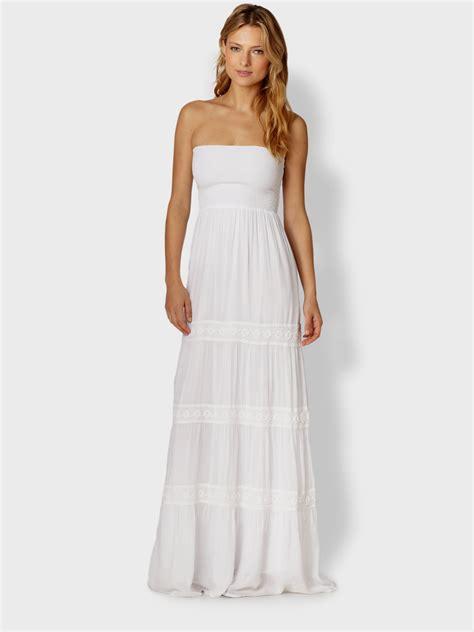 White Maxi white strapless maxi dress naf dresses