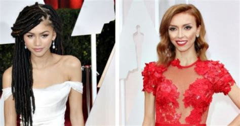 jillian rancic and oscar comment giuliana rancic issues apology for zendaya oscar red