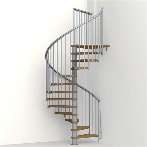 Spiral Staircase by Nice 1 Metal Steel And Wood Spiral Staircase Fontanot