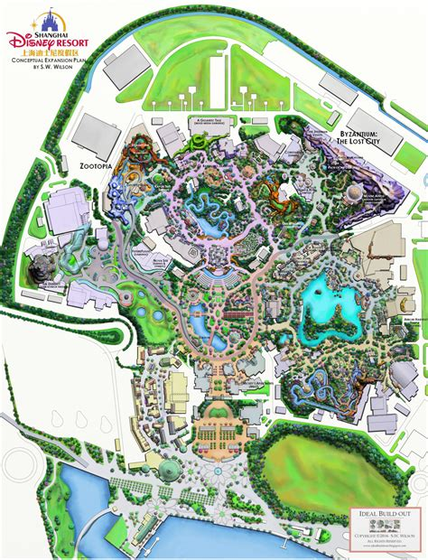 ideal resort map ideal buildout