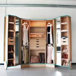 cleverly designed walk in closet showcasing practicability