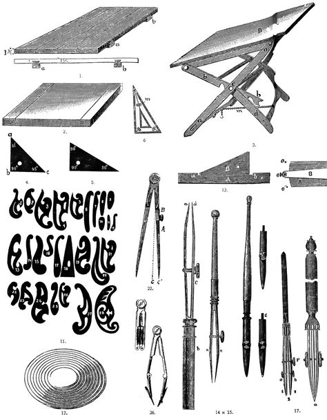 5 Drawing Instruments And Their Uses by File Technical Drawing Instruments 1 Jpg Wikimedia Commons