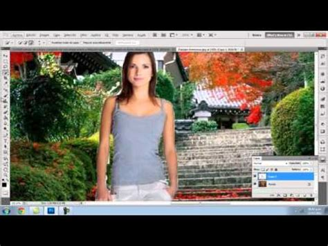 varias imagenes en una foto como hacer un foto montaje en photoshop cs5 youtube