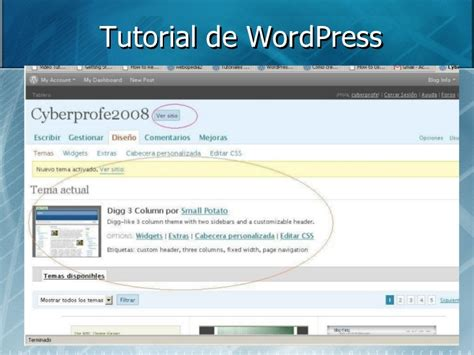 tutorial wordpress gallery slideshow tutorial de word press