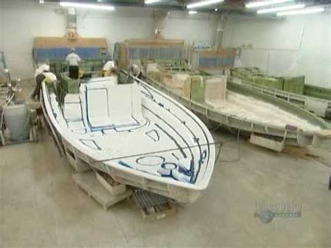 fiberglass rc boat molds for sale how it s made fibreglass boats youtube