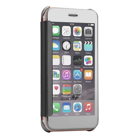 Mirror Clear View Cover Iphone 5 for apple iphone 5 6s 7 plus mirror clear view window