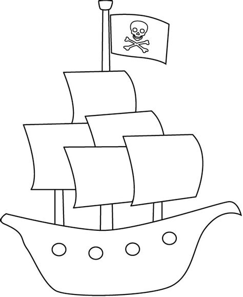 Pirate Themed Coloring Pages pirate ship coloring page pirate theme birthday
