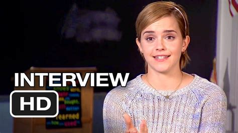 film emma watson the perks of being a wallflower the perks of being a wallflower interview emma watson