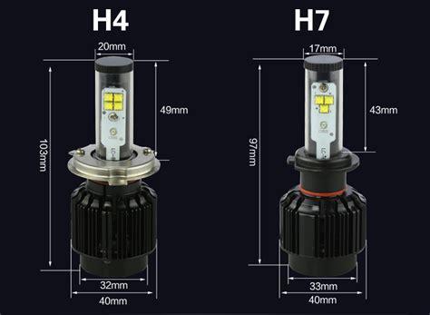Buy H8 H9 H11 20w bright car led headlight 40w 4000lm led headlight h1
