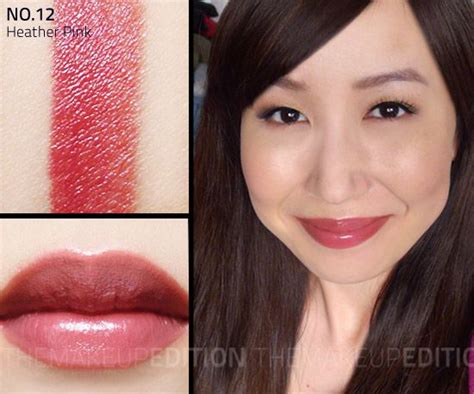 is nars bridgette a popular color bobbi brown heather pink lipstick no 12 heather pink a