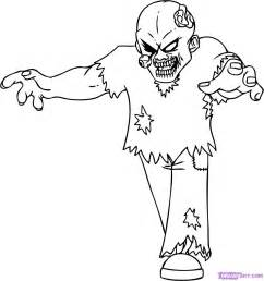 zombie color pages colouring pages