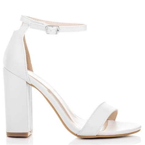 sass white sandals shoes from spylovebuy
