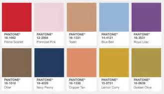 inc color image pantone s fall 2017 color trends the edition