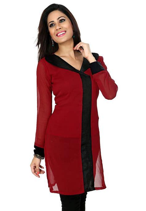 kurti pattern for fat ladies red kurti 29 00 plus size kurtis pinterest