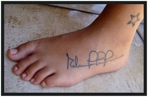 barcode tattoo foot another ideas of foot tattoo designs today tattoos for women