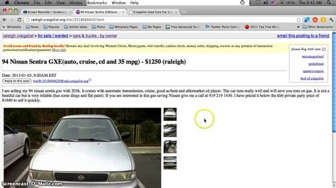 craigslist raleigh  cars  sale  january