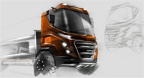 volvo truck design truck sketch design photoshop retouch car sketch