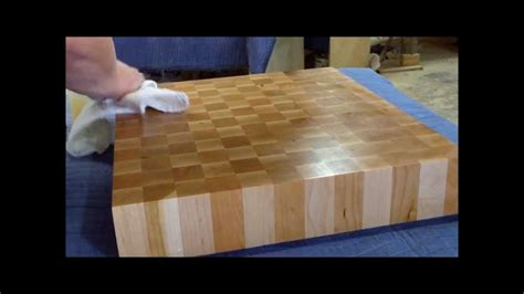 end grain butcher block - How To Make An End Grain Butcher Block