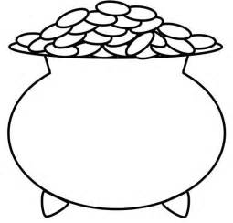 pot of gold coloring page free pot of gold coloring pages