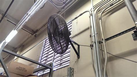 wall mount shop fan lot 73 dayton wall mounted shop fan wirebids