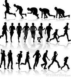 imagenes siluetas negras 1000 images about moviment figura humana on pinterest