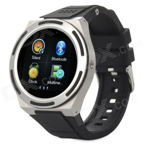 Smart Water Resistant kiccy a8 water resistant bluetooth smart phone w 1 54 quot fm for android and ios silver