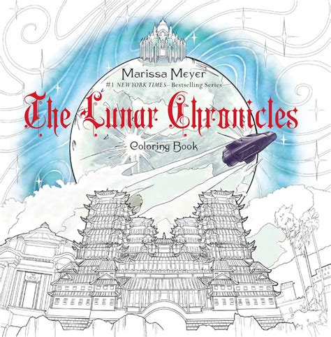 carina s books the lunar chronicles coloring book