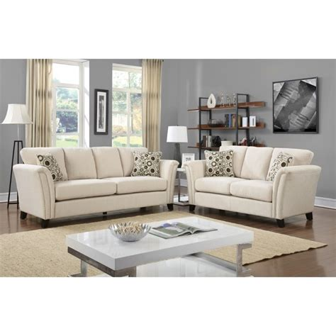 2 piece sofa set furniture of america shirley fabric 2 piece sofa set in
