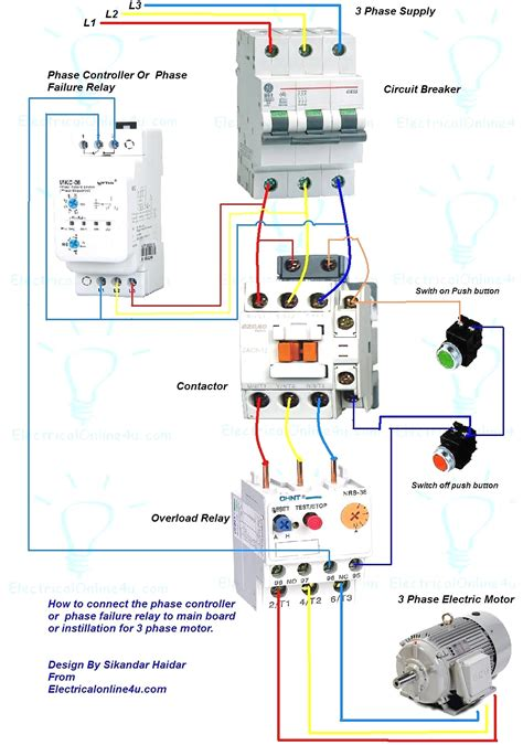 2 pole contactor wiring diagram 4k wallpapers