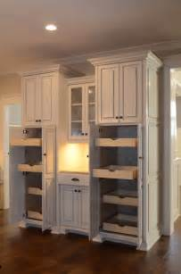 Built In Kitchen Pantry Cabinet by Custom Built In Pantry Traditional Kitchen Other