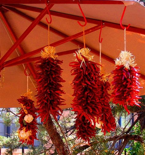 chileanchristmas decor decorations chile pepper bunches mexican decor and crafts chile