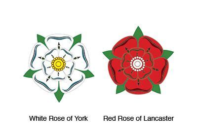 what are the names of the two houses of congress quot the name war of the roses originated as the heraldic badges associated with the two