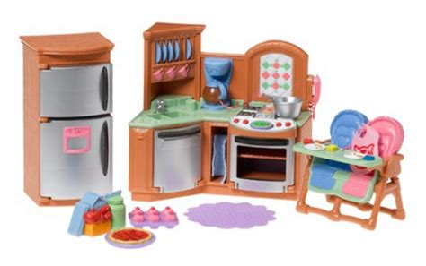 loving family kitchen furniture fisher price loving family kitchen miniatures dollhouse