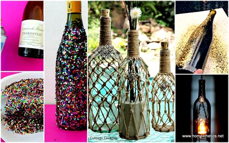 diy project diy projects using wine bottles