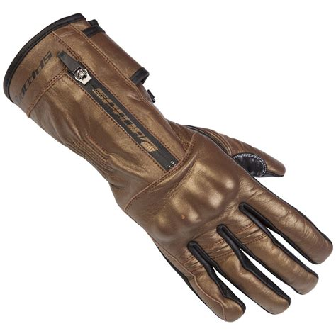 ladies motorcycle gloves spada finesse ladies leather summer gauntlet motorcycle