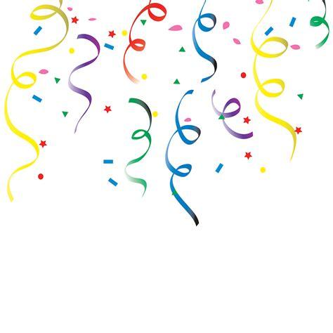 new years streamers confetti clipart clipart kid 2 clipartix