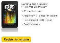 sprint deploys honeycomb update to evo view 4g sprint s htc evo view 4g tablet ships with honeycomb