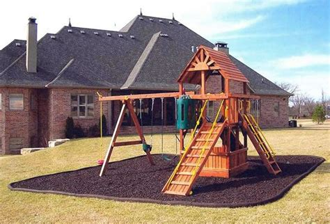 11 Best Images About Backyard Spaces On Pinterest Backyard Playground Surface